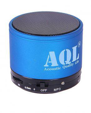 linc music mini bluetooth speaker blue and black. Black Bedroom Furniture Sets. Home Design Ideas