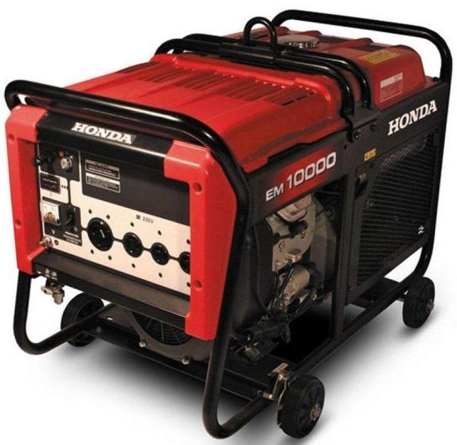 Honda 8kva em10000 key starting generator battery price for Honda battery cost