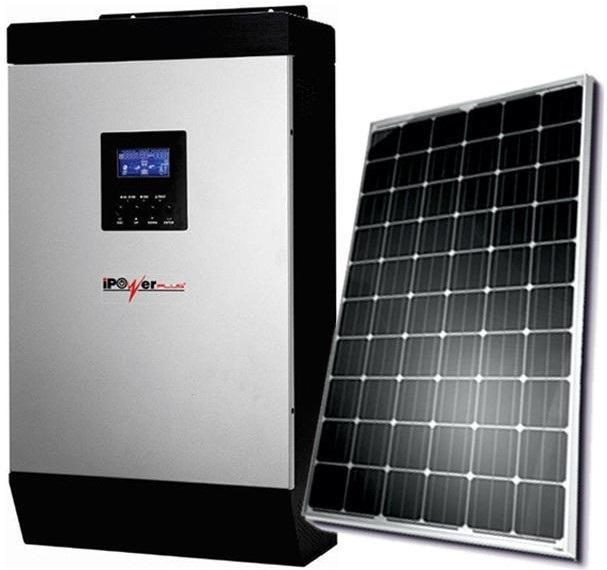 Ipowerplus 5kva Inverter And 8 Batteries And 8 Solar