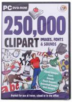 Avanquest software 250,000 Clipart Images,Fonts And Sounds