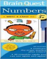 Brain Quest Numbers Write &Erase set