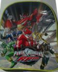 Homeequip Small School Bags- Power Ranger, Pooh One Bee, Team 95 McQueen.