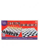 Kids Classic Chess And Draughts Set