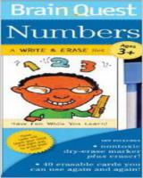 KidZ Centre Brain Quest Numbers Write &Erase set