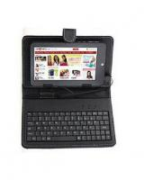 Kousout 7-Inch Keyboard & Leather Cover Case for Tablet