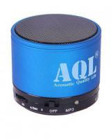 Linc Music Mini Bluetooth Speaker - Blue and Black