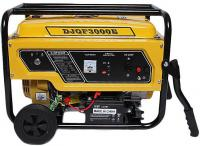 Osychris 3KVA Recoil Electric Key Start Generator   Wheels