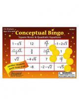 Puzzlextra Conceptual Bingo -Square root & Quad Equ
