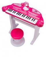 Sawrio Hello Kitty Piano and Stool Set -  Pink