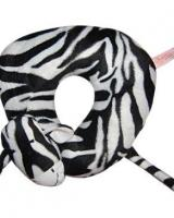 Zebra Neck Pillow And Plush